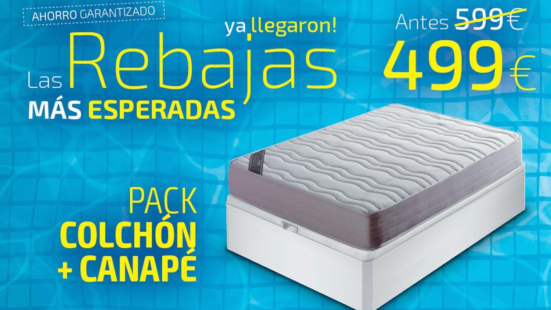 Pack Colchón más Canapé